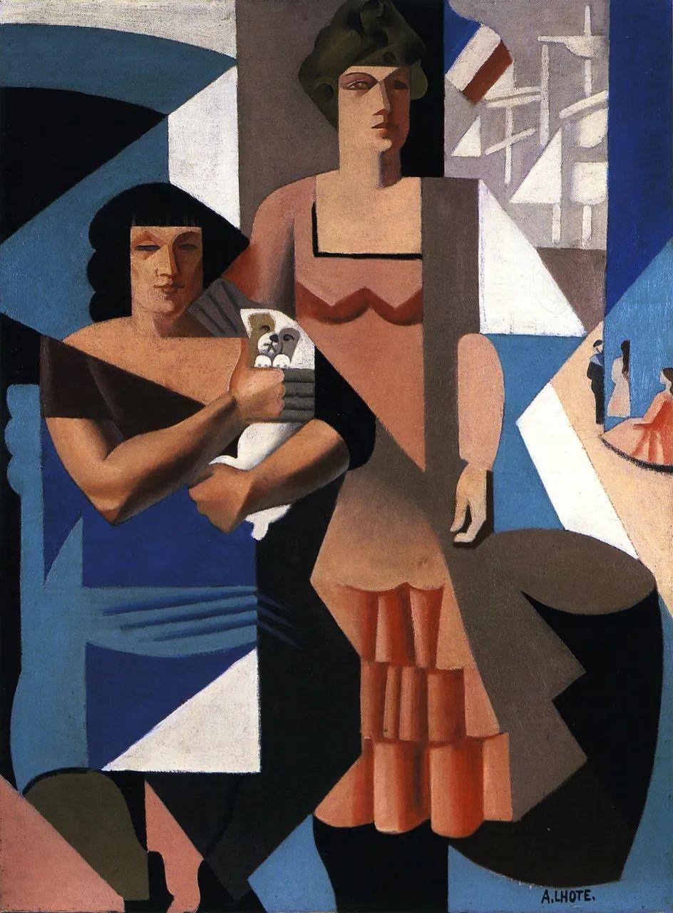 立体派,法国画家安德烈·洛特插图113