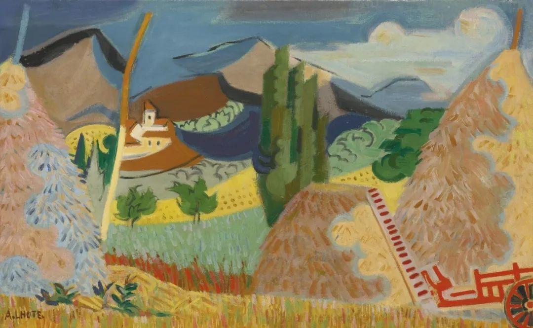 立体派,法国画家安德烈·洛特插图115