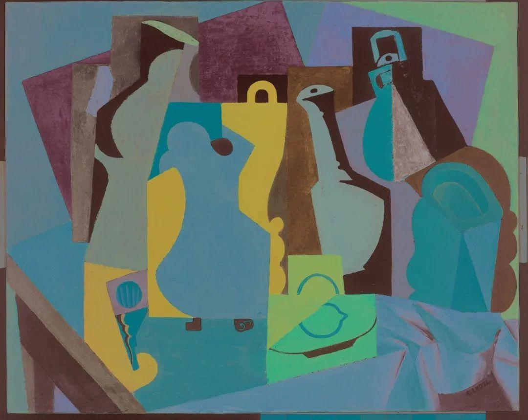 立体派,法国画家安德烈·洛特插图123