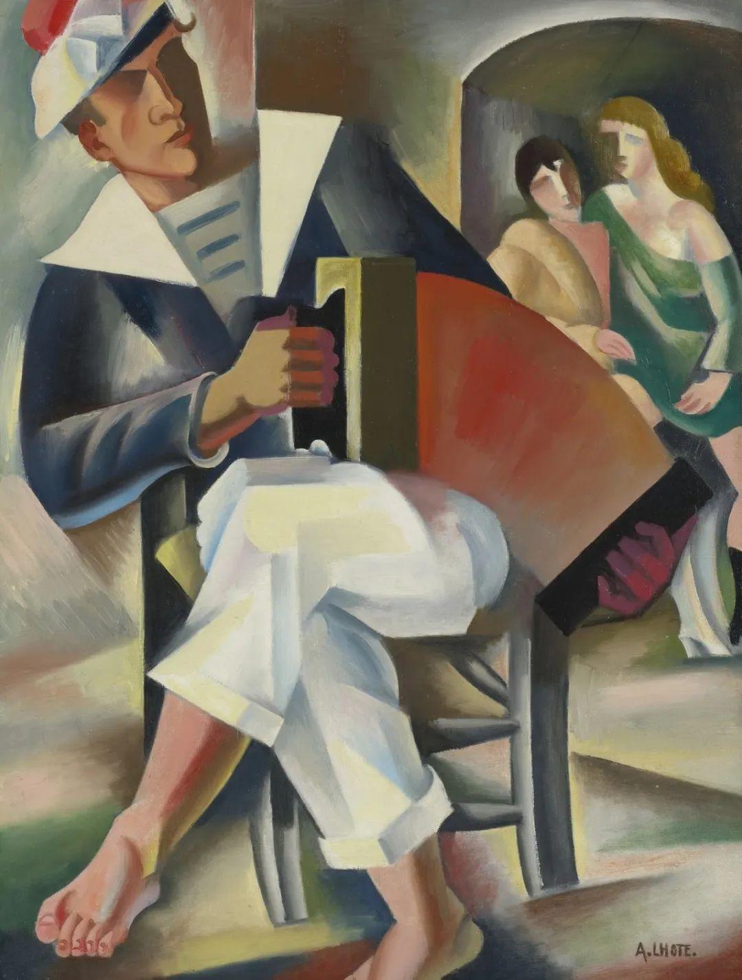 立体派,法国画家安德烈·洛特插图125