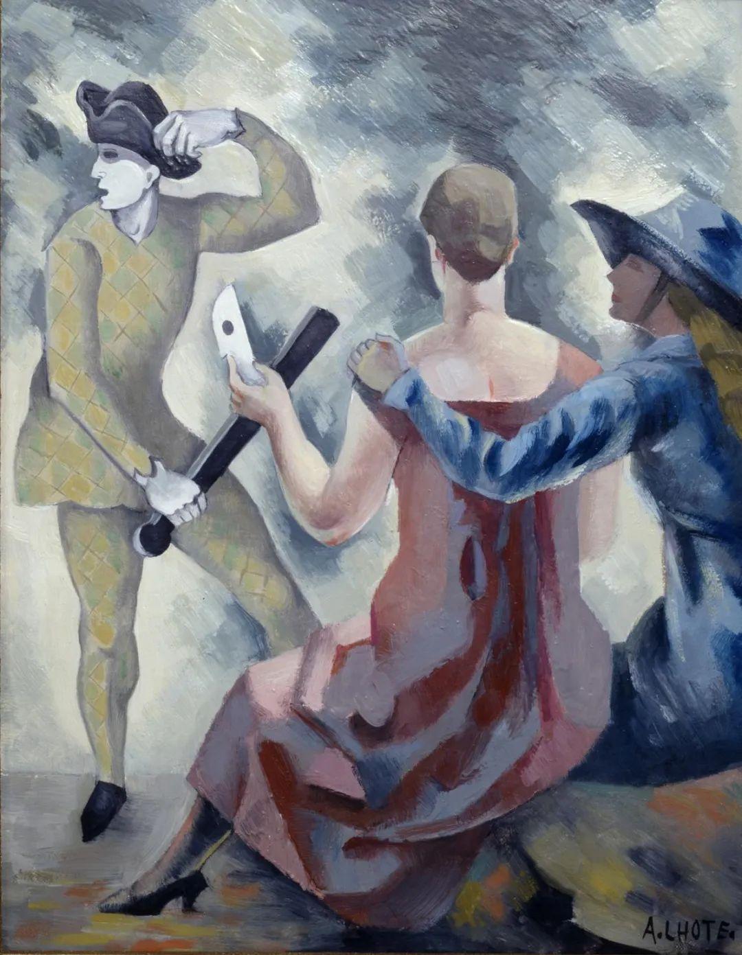 立体派,法国画家安德烈·洛特插图127