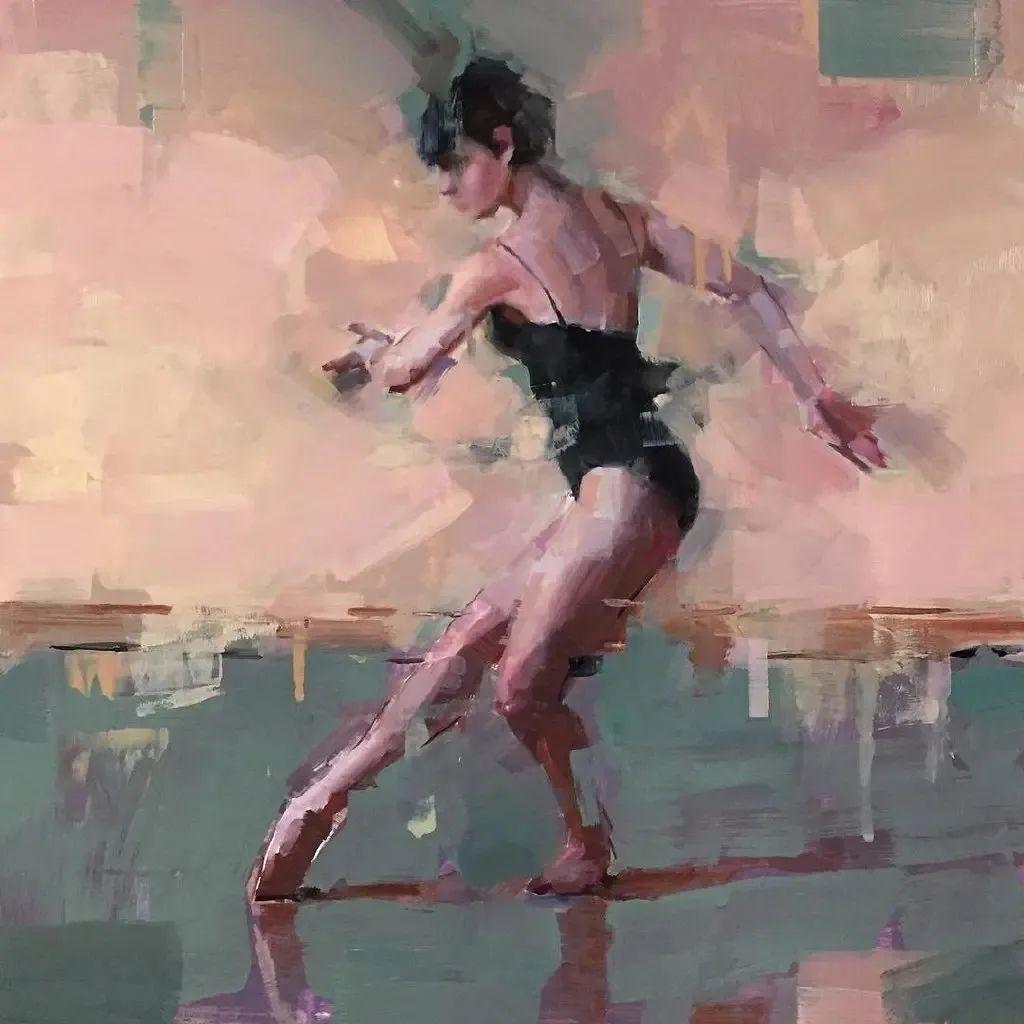 富有表现力的油画,美国艺术家雅各布·德恩插图3