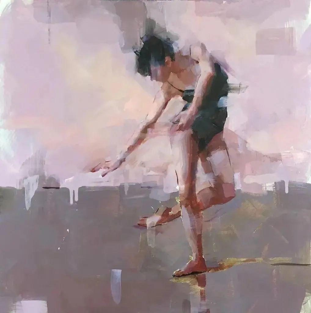 富有表现力的油画,美国艺术家雅各布·德恩插图5