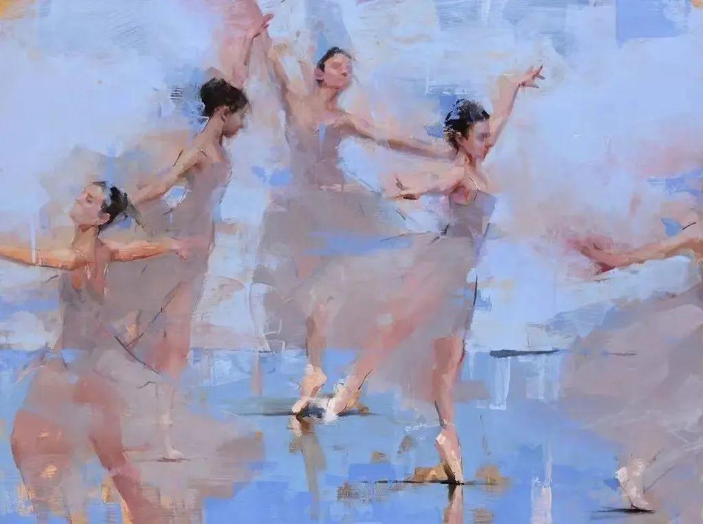 富有表现力的油画,美国艺术家雅各布·德恩插图7