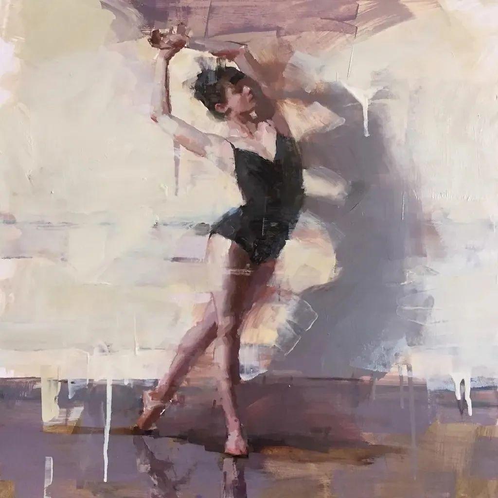 富有表现力的油画,美国艺术家雅各布·德恩插图9