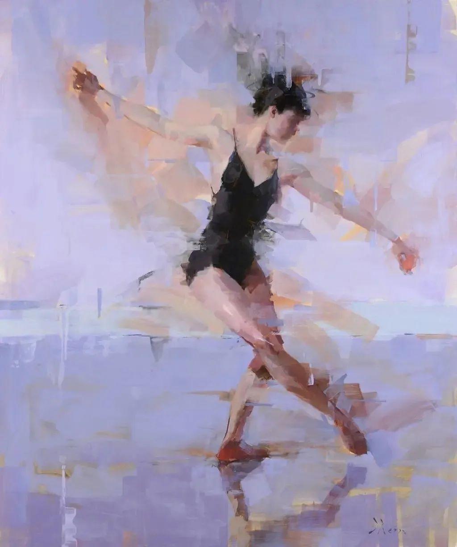 富有表现力的油画,美国艺术家雅各布·德恩插图11