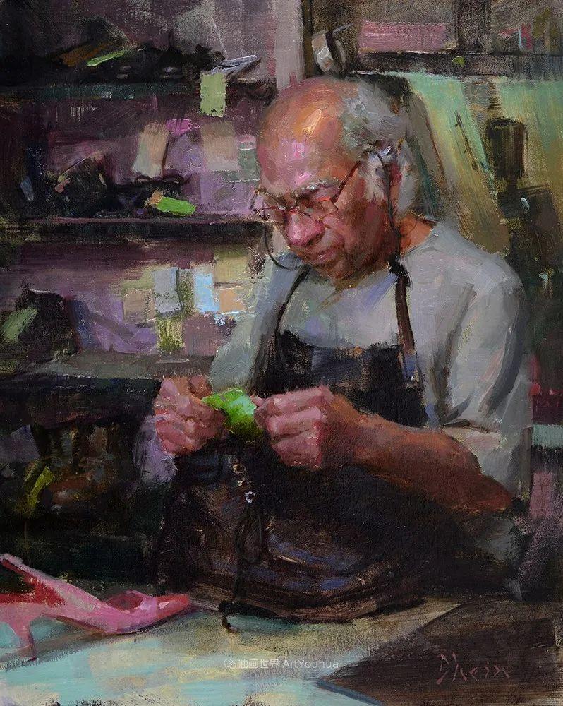 富有表现力的油画,美国艺术家雅各布·德恩插图27