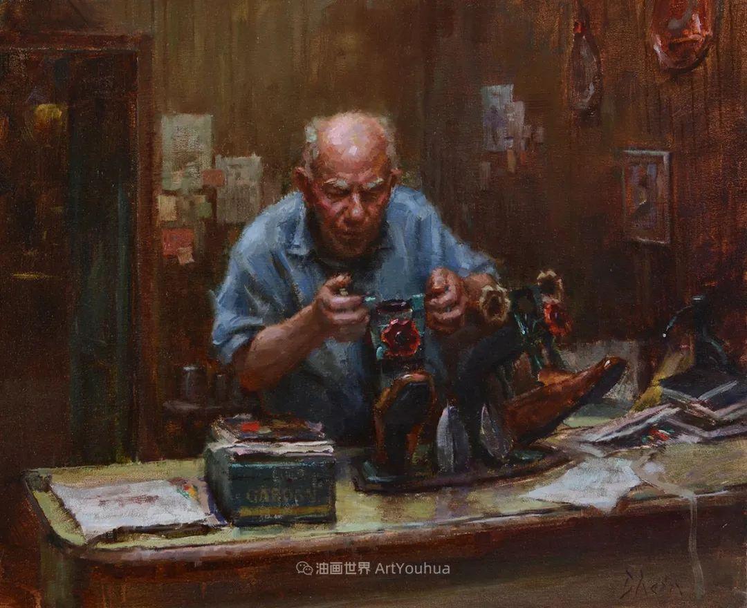 富有表现力的油画,美国艺术家雅各布·德恩插图31