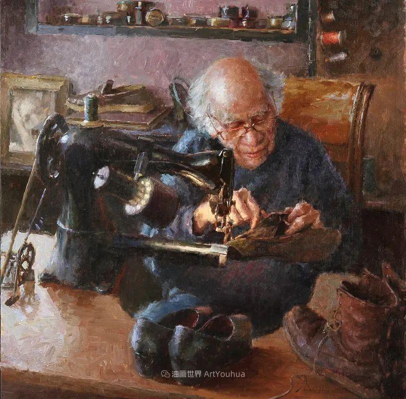 富有表现力的油画,美国艺术家雅各布·德恩插图33