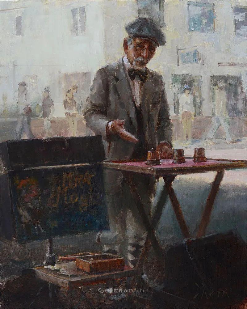 富有表现力的油画,美国艺术家雅各布·德恩插图39