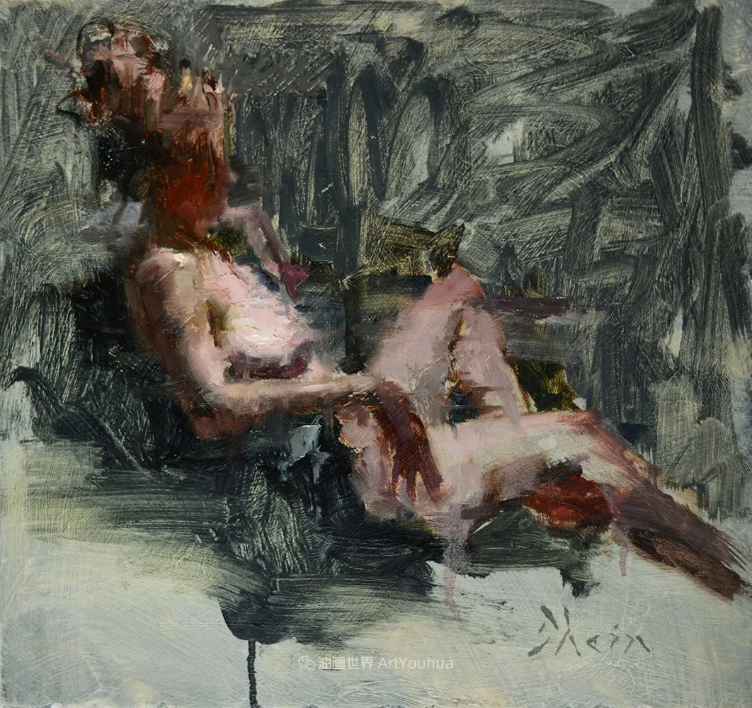 富有表现力的油画,美国艺术家雅各布·德恩插图51