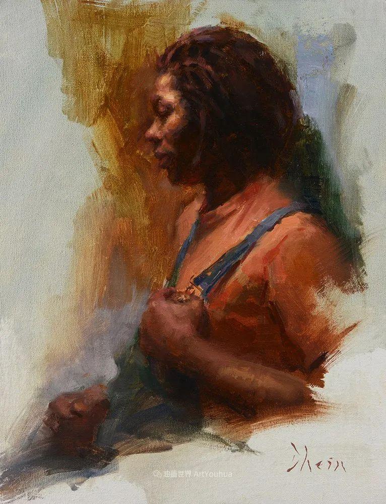 富有表现力的油画,美国艺术家雅各布·德恩插图53