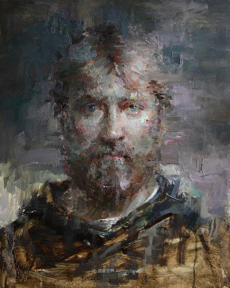 富有表现力的油画,美国艺术家雅各布·德恩插图57
