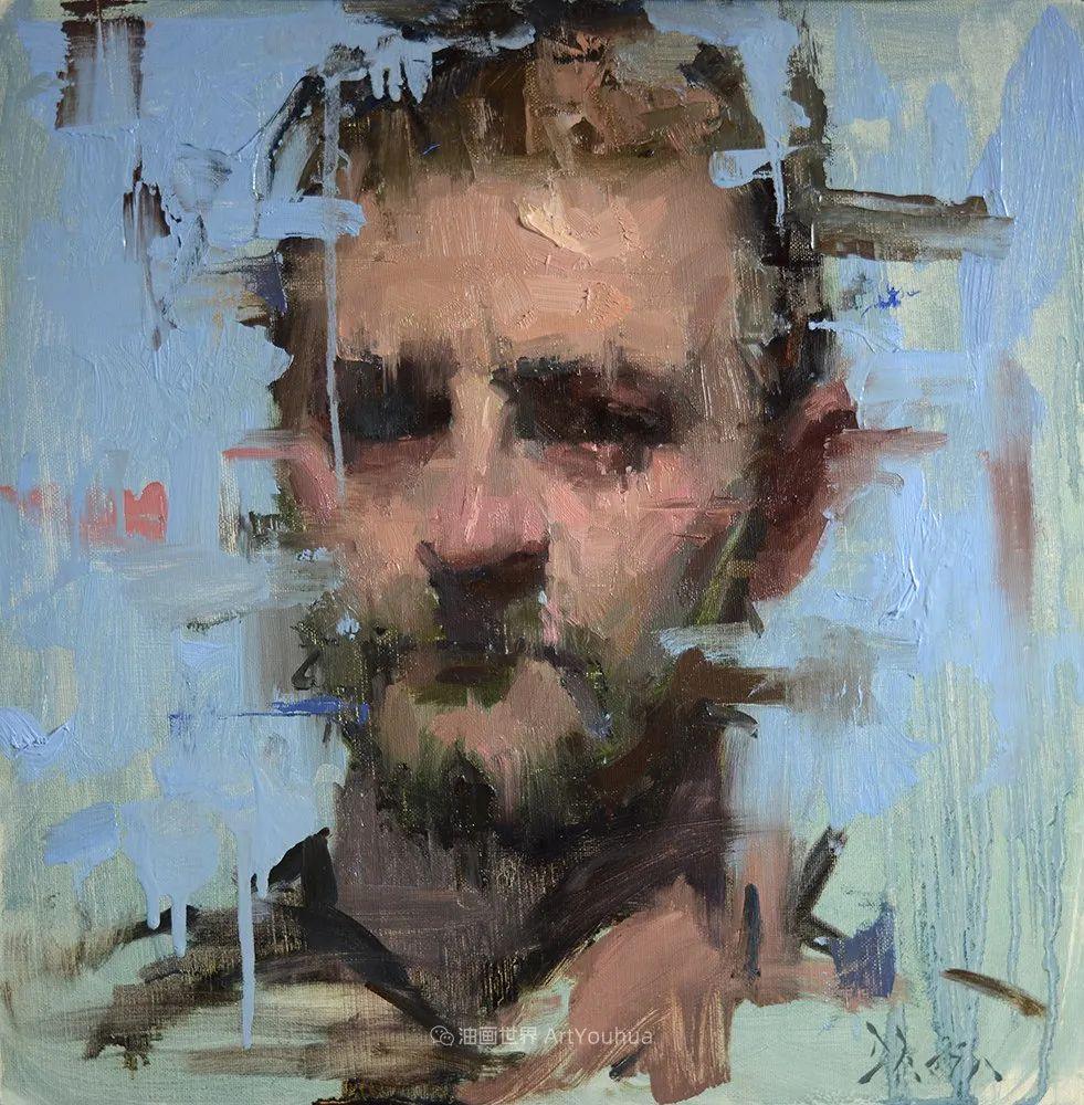 富有表现力的油画,美国艺术家雅各布·德恩插图63