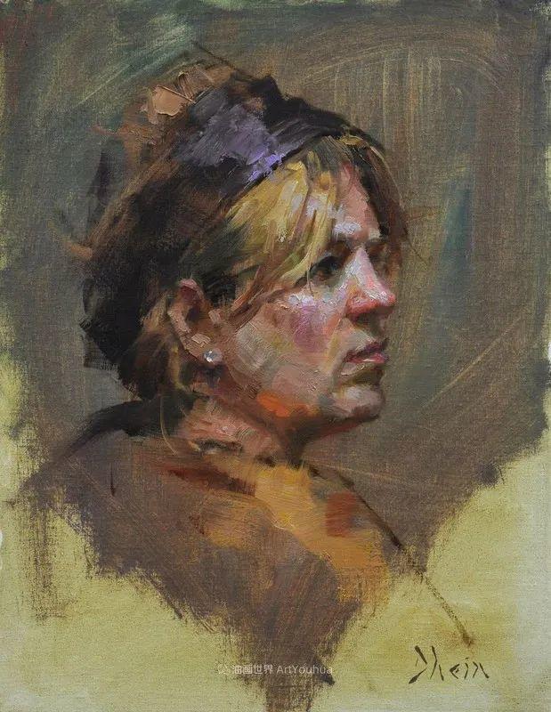 富有表现力的油画,美国艺术家雅各布·德恩插图65