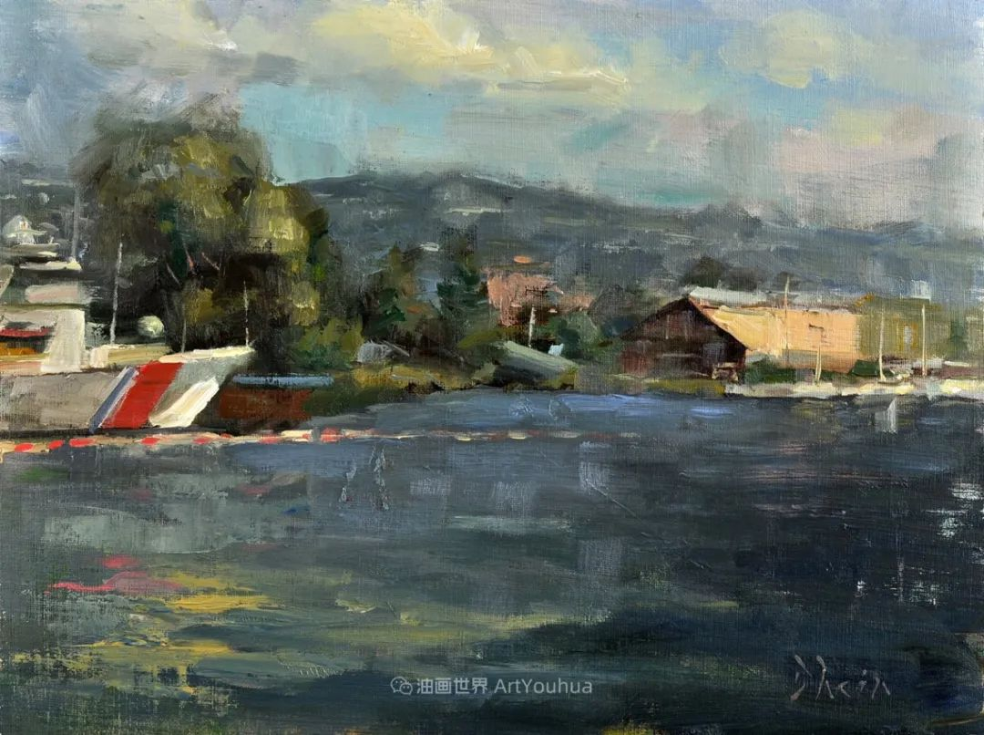 富有表现力的油画,美国艺术家雅各布·德恩插图73