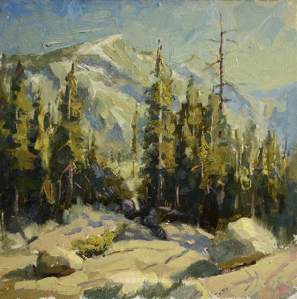 富有表现力的油画,美国艺术家雅各布·德恩插图75
