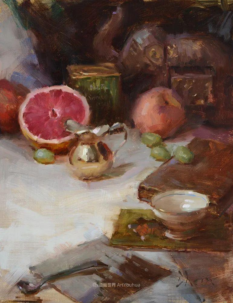 富有表现力的油画,美国艺术家雅各布·德恩插图79