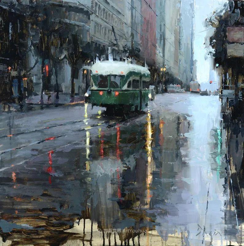 富有表现力的油画,美国艺术家雅各布·德恩插图83
