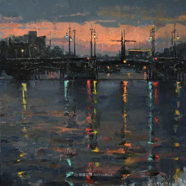 富有表现力的油画,美国艺术家雅各布·德恩插图85