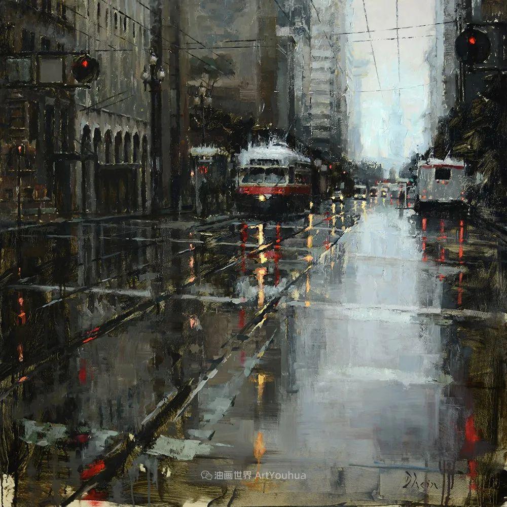 富有表现力的油画,美国艺术家雅各布·德恩插图87