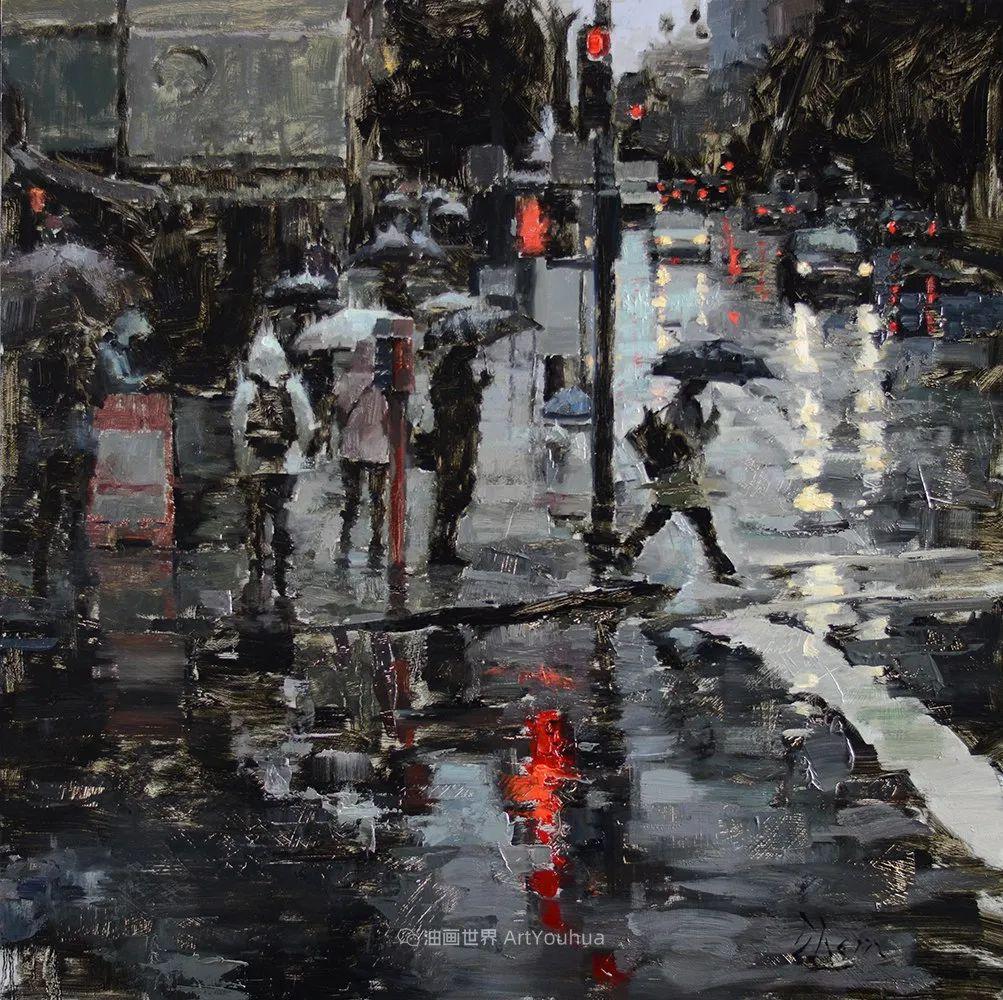 富有表现力的油画,美国艺术家雅各布·德恩插图89