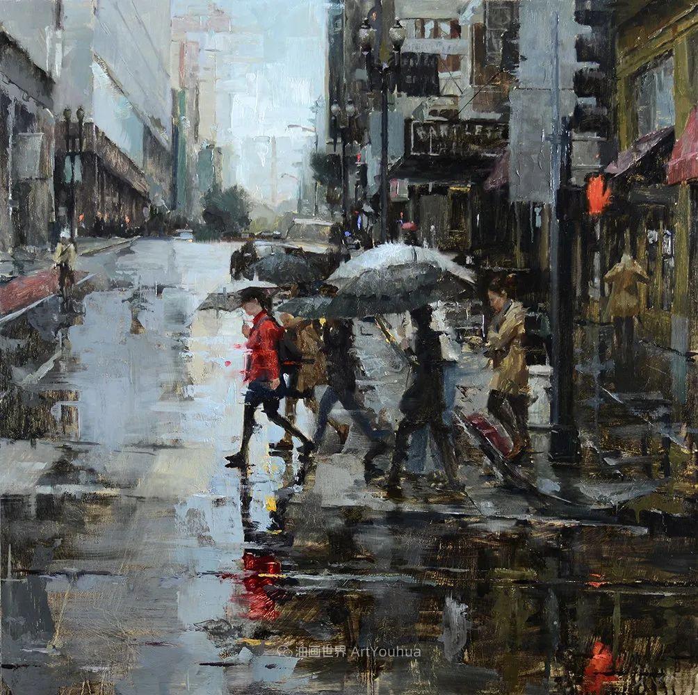 富有表现力的油画,美国艺术家雅各布·德恩插图91