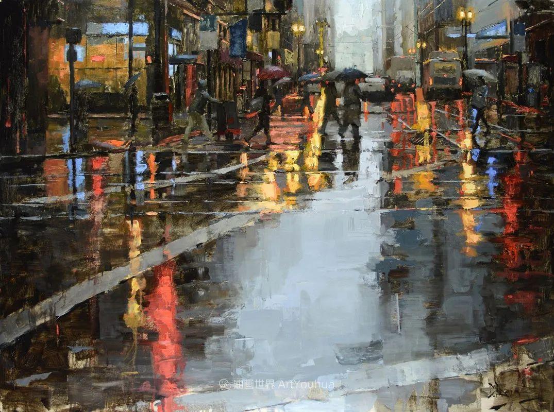 富有表现力的油画,美国艺术家雅各布·德恩插图93