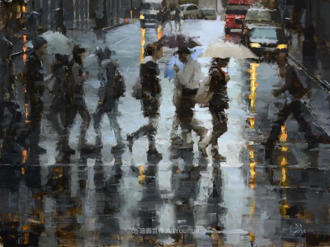 富有表现力的油画,美国艺术家雅各布·德恩插图97