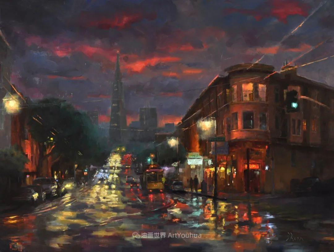 富有表现力的油画,美国艺术家雅各布·德恩插图99