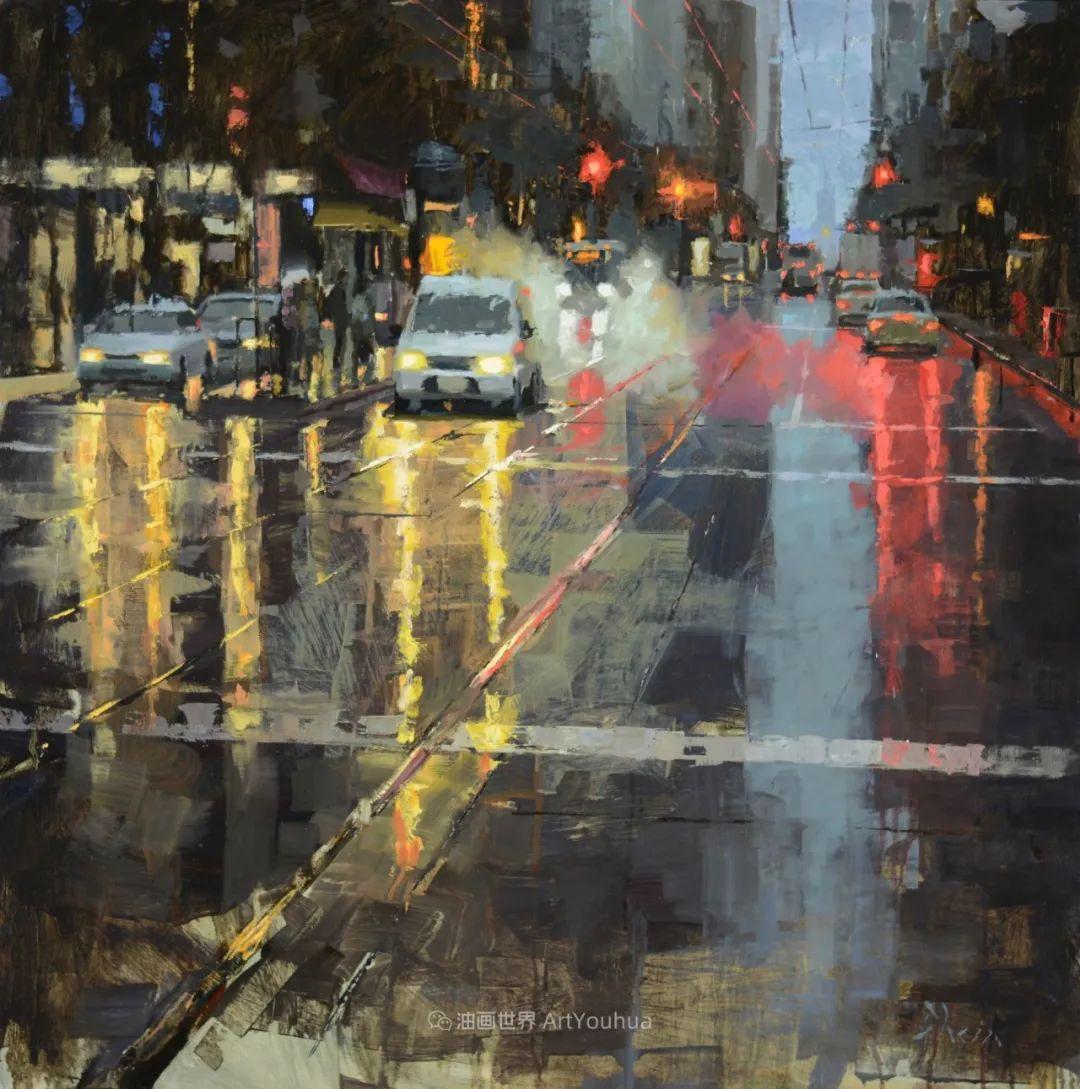 富有表现力的油画,美国艺术家雅各布·德恩插图101