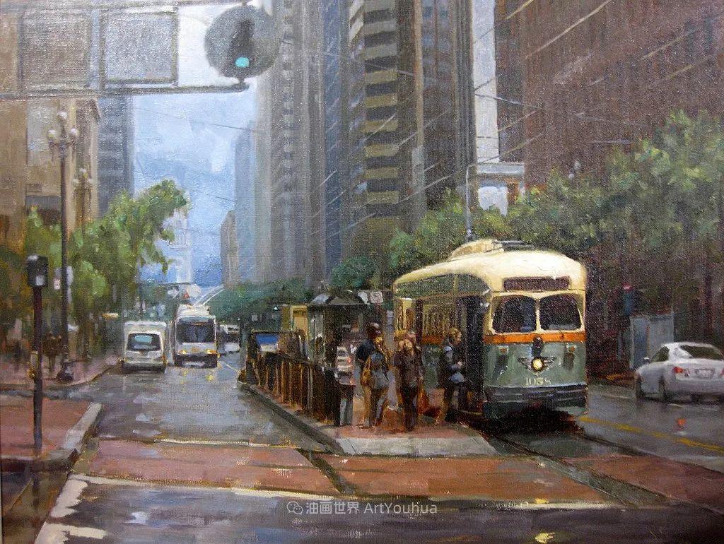 富有表现力的油画,美国艺术家雅各布·德恩插图103