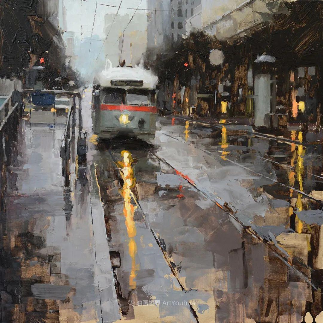 富有表现力的油画,美国艺术家雅各布·德恩插图109