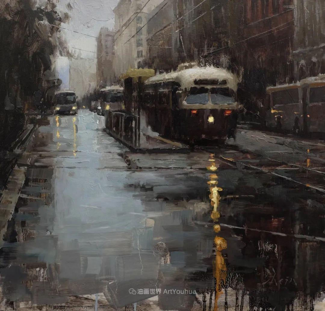 富有表现力的油画,美国艺术家雅各布·德恩插图111