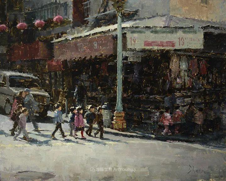 富有表现力的油画,美国艺术家雅各布·德恩插图115