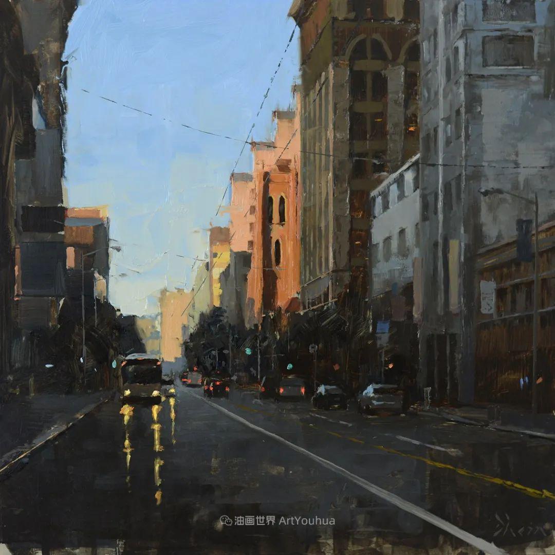 富有表现力的油画,美国艺术家雅各布·德恩插图117