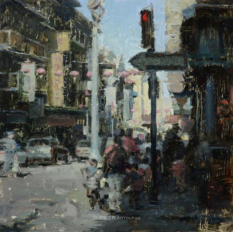 富有表现力的油画,美国艺术家雅各布·德恩插图119