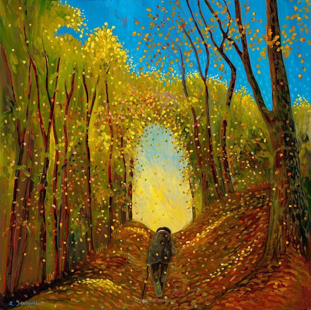 宁静的乡村景色,美丽的色彩!插图23