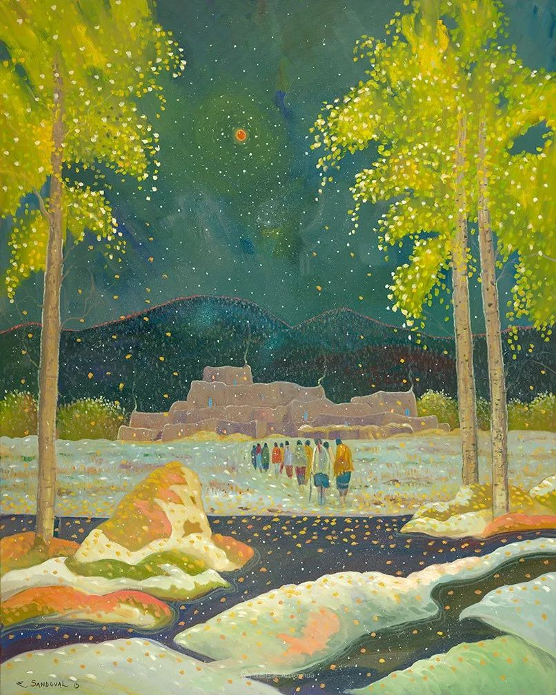 宁静的乡村景色,美丽的色彩!插图39