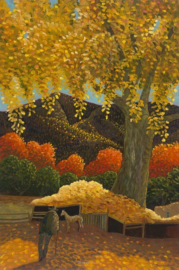 宁静的乡村景色,美丽的色彩!插图77