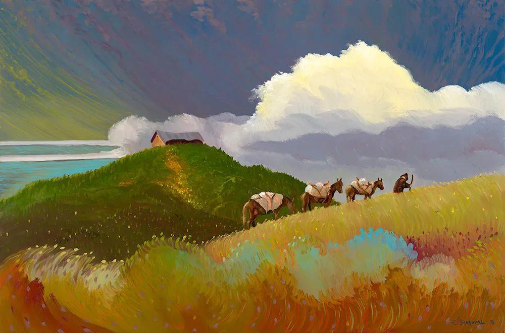 宁静的乡村景色,美丽的色彩!插图137