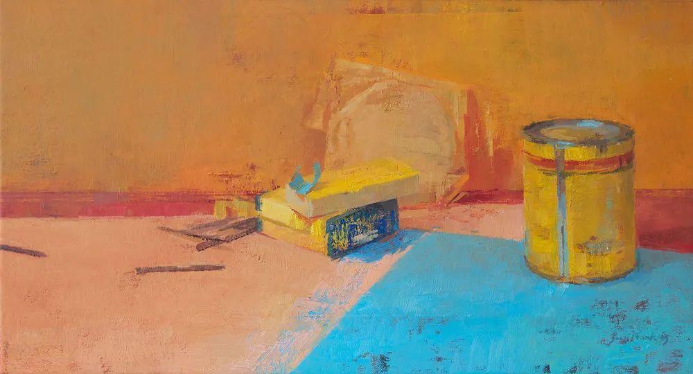 色彩新清的具象绘画,美国女画家佐伊·弗兰克插图