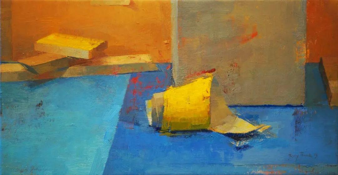 色彩新清的具象绘画,美国女画家佐伊·弗兰克插图1