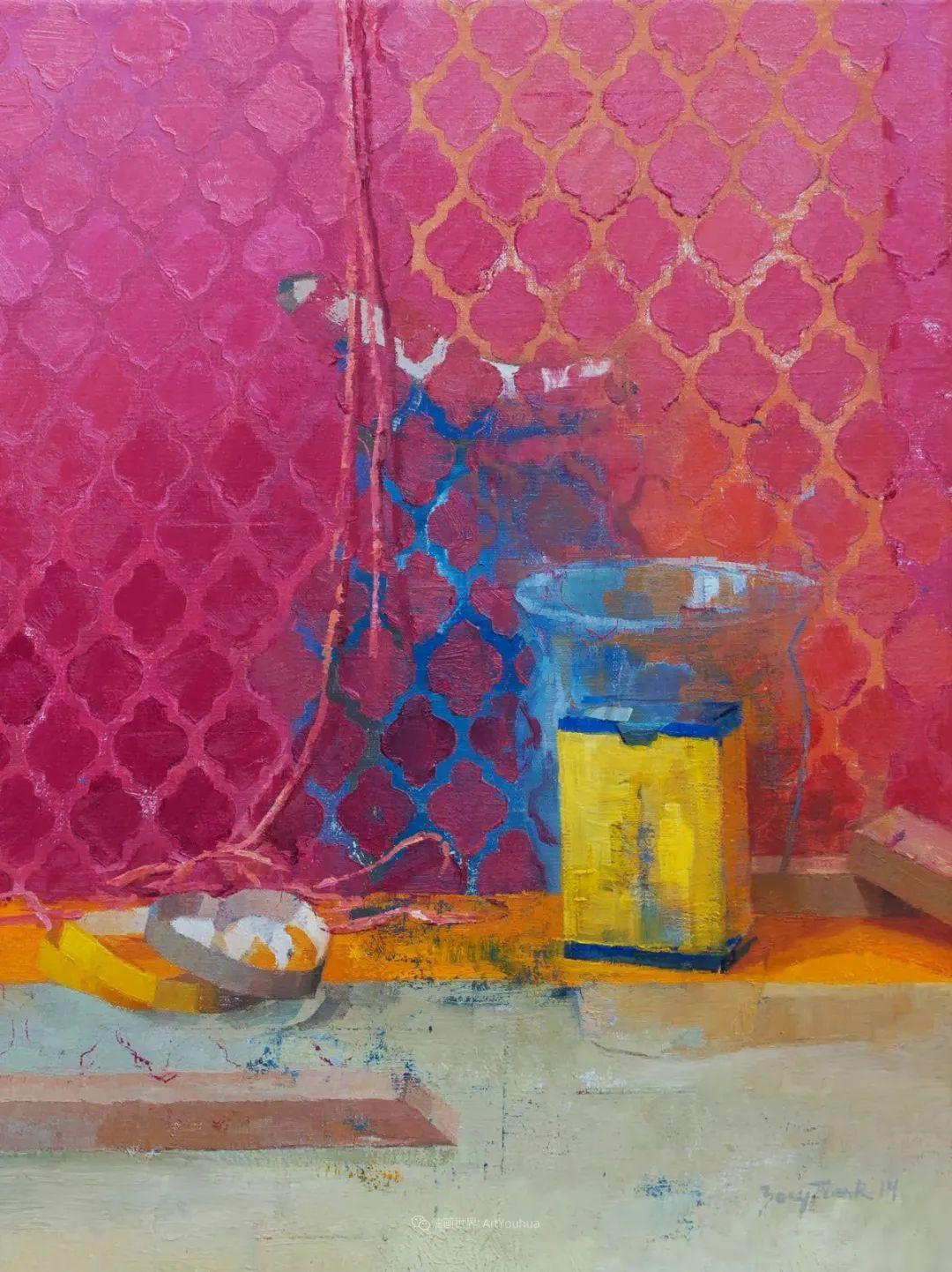 色彩新清的具象绘画,美国女画家佐伊·弗兰克插图2