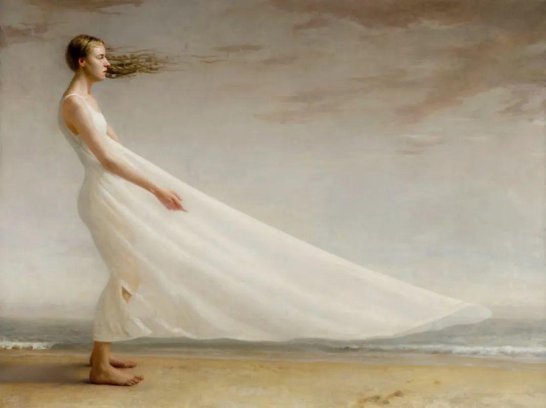 色彩新清的具象绘画,美国女画家佐伊·弗兰克插图3