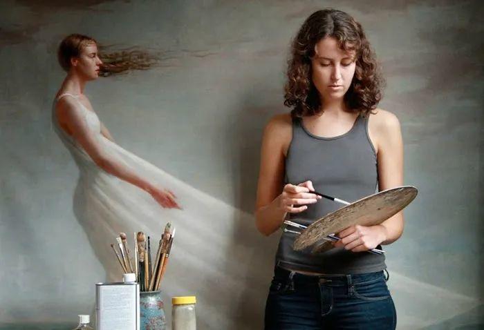 色彩新清的具象绘画,美国女画家佐伊·弗兰克插图4