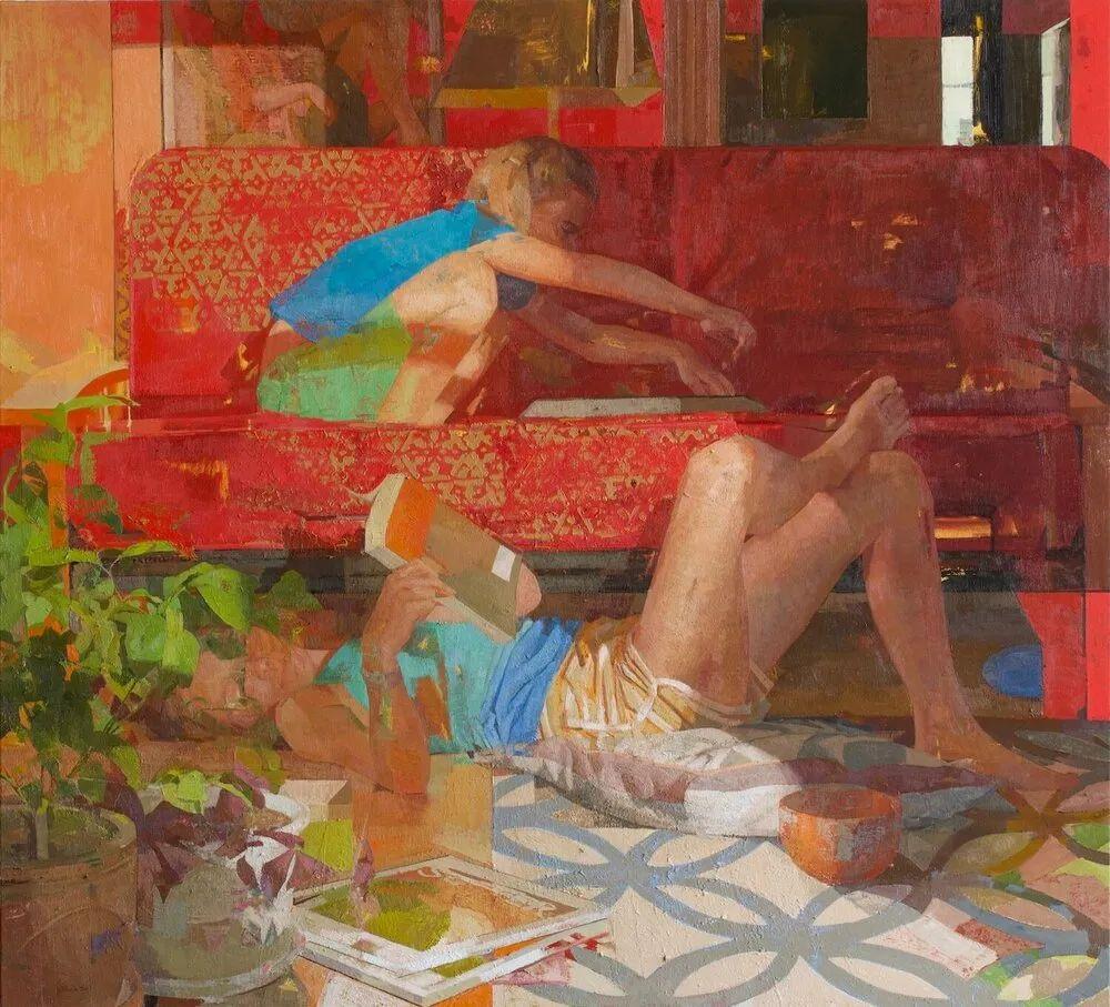 色彩新清的具象绘画,美国女画家佐伊·弗兰克插图5