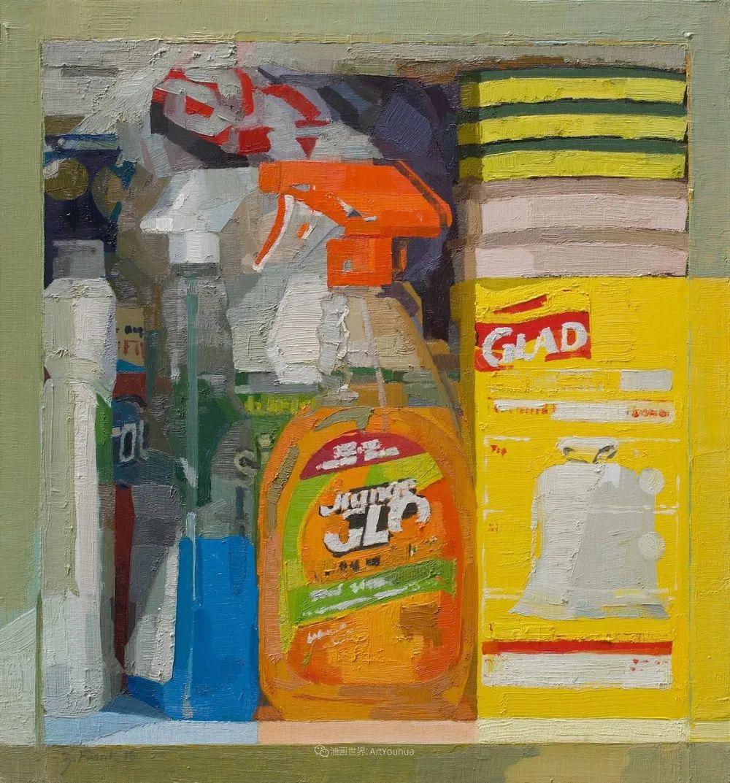 色彩新清的具象绘画,美国女画家佐伊·弗兰克插图6