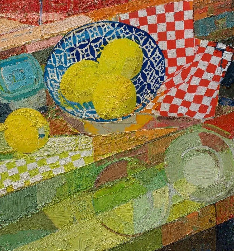 色彩新清的具象绘画,美国女画家佐伊·弗兰克插图7