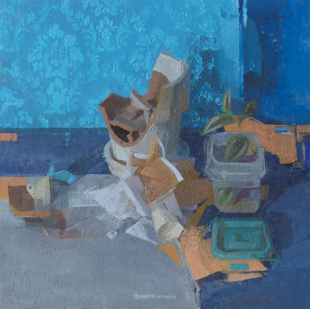 色彩新清的具象绘画,美国女画家佐伊·弗兰克插图8